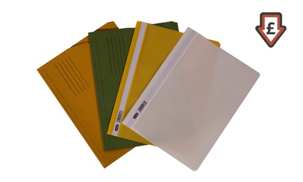 Elba 50 or 100 A4 Report Files or 50 or 100 A4 Document Wallets