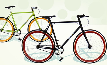 Fixed Gear Bikes. Multiple Heights and Colors Available.
