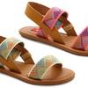 Unionbay Girls' Tribal-Print Sandals