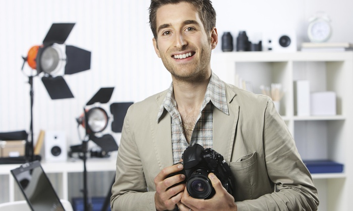 Ceo Photography - Garment District: 60-Minute Studio Photo Shoot with Wardrobe Changes and Digital Images from Ceo Photography (75% Off)