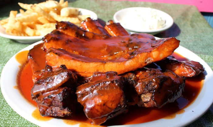 Hot Sauce Williams - Hot Sauce Williams: Barbecue Dinner at Hot Sauce Williams (Up to 40% Off)