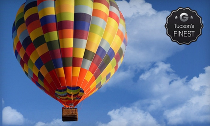 Tucson Balloon Rides - Tucson: $149 for a One-Hour Hot Air Balloon Ride from Tucson Balloon Rides ($235 Value)