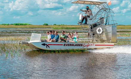 Eco-Adventure Airboat Tour for One, Two, or Four at Everglades Safari Park (46% Off)
