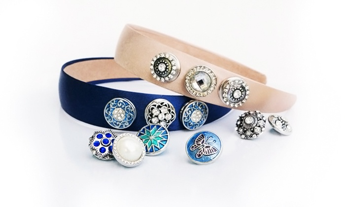 Stamp the Moment: Three Charm-Like Snaps with Optional Jewelry, Headband, or Purse from Stamp the Moment (Up to 72% Off)