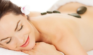 Escape Day Spa: $59 for a Hot-Stone Massage with Scalp and Reflexology Massage at Escape Day Spa ($160 Value)