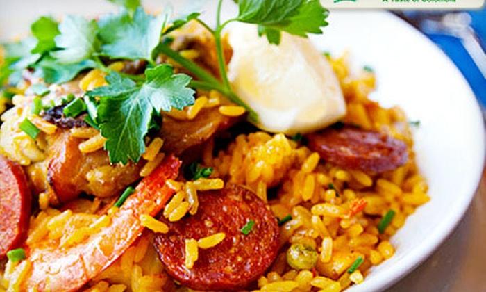 Kiosco Restaurant - Marietta: $22 for a Colombian Meal with Sangria for Two at Kiosco Restaurant (Up to $52.85 Value)