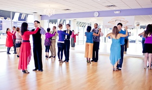Arthur Murray Dance Studio: Dance Lessons for Singles, Couples, Kids & Teens at Arthur Murray Dance Studio (Up to 82% Off). Three Options.