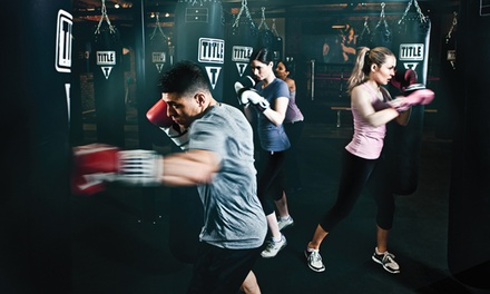 $19 for Two Weeks of Unlimited Boxing and Kickboxing Classes at TITLE Boxing Club ($50 Value)