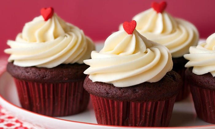 Trophy Cupcakes and Party - Multiple Locations: $26 for an Online Order of One Dozen Classic Cupcakes at Trophy Cupcakes and Party ($44.40 Value)