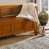 Simpli Home Adams Entryway Storage Bench