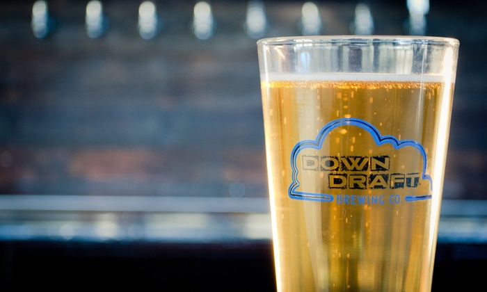 Downdraft Brewing Co - Downdraft Brewing: Up to 50% Off beer tasting experience  at Downdraft Brewing Co