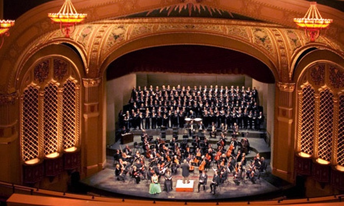 Three-Show Classics Season Subscription - Downtown San Jose: Three-Show Classics Season Subscription to Symphony Silicon Valley at California Theatre (Up to 52% Off)