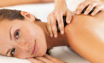 image for Hot Stone Massage Plus Facial For One or Two from £19 at Brown Cow Salon (Up to 60% Off)