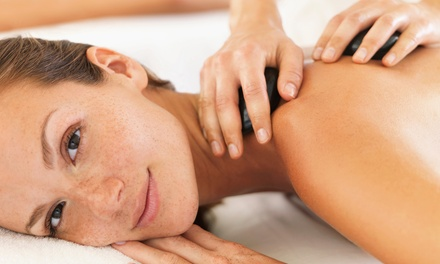 Hot Stone Massage Plus Facial For One or Two from £19 at Brown Cow Salon (Up to 60% Off)