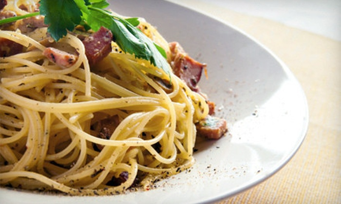 Grappa Restaurant - East Watertown: Italian Food at Grappa Restaurant (Half Off). Two Options Available.