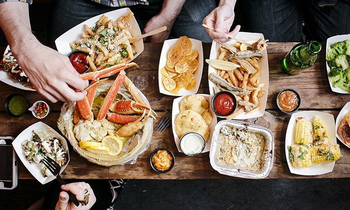 LoLo's Seafood Shack - New York City: Seafood Feast for Two or Four at LoLo's Seafood Shack (Up to 38% Off)