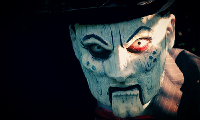 Fright Nights - Royal Palm Beach-West Jupiter: $10 for a Thursday Visit to Fright Nights with Access to Three Haunted Attractions and Unlimited Rides (Up to $25 Value)