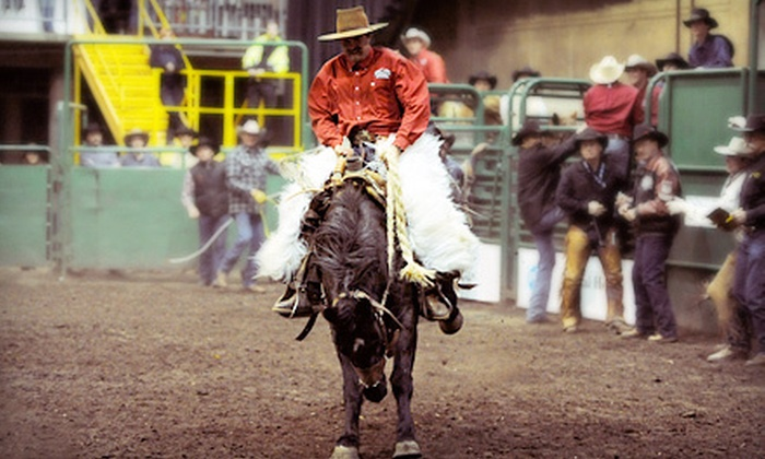 Heritage Ranch Rodeo - Rexall Place: $13 for Heritage Ranch Rodeo for Two at Edmonton EXPO Centre on November 4 or 5 (Up to $27.02 Value)