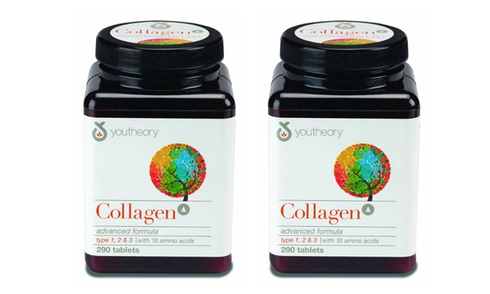 Youtheory Collagen Advanced Formula Type 1, 2, and 3