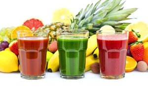 Pure Alchemy : $12 for $20 Worth of Juices, Smoothies, and Snacks at Pure Alchemy
