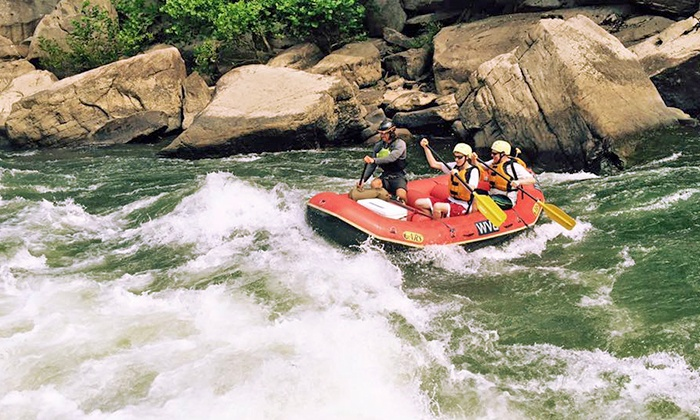 West Virginia Adventures - Kanawha City: Whitewater Rafting Trips for One, Two or Eight (42%off)