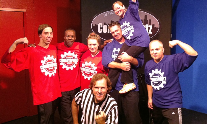ComedySportz - Ferndale: ComedySportz Show for Child or Adult at Michigan Actor's Studio thorough February 28 (Up to Half Off)