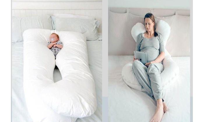 Hasta 55 dto almohada viscoel stica embarazo groupon - Almohadas para embarazo ...