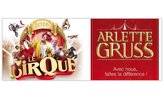 1 place pour la nouvelle tournée 2016 du Cirque Arlette Gruss à Amiens et visite de la ménagerie dès 13 €