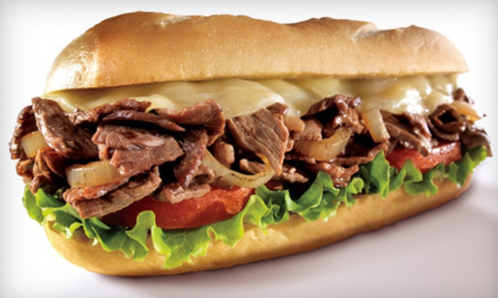 Charley's Grilled Subs - Multiple Locations: Seven Regular Subs or $7 for $15 Worth of Deli Food, Fries, and Drinks at Charley's Grilled Subs