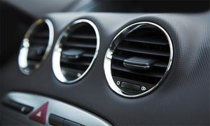 Elmot Auto Serwis: Ozonowanie klimatyzacji i wnętrza auta (29,99 zł) lub przegląd układu z nabiciem (od 59,99 zł) w Elmot Auto Serwis