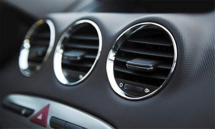 Air Conditioning Service and Re-Gas at Sparrowhawk Motors (60% Off)
