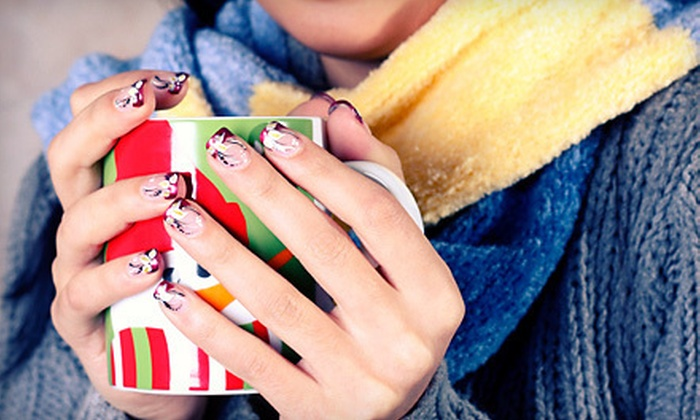 Felicia's Fabulous Nails - Highland Springs: $12 for a Winter Wonderland Manicure with a Paraffin Treatment and Massage at Felicia's Fabulous Nails ($30 Value)