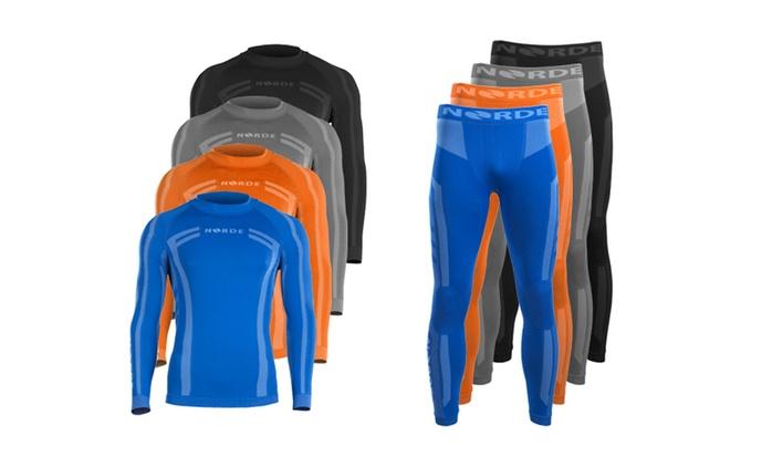 Ensemble sous-vêtements thermiques, tailles et coloris aux choix, dès 29,99 € (jusqu'à 73% de réduction)