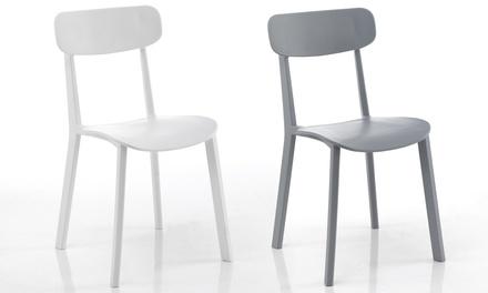 Set di 4 sedie Mara