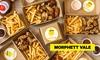 Burger, Chips, Nuggets & Drink