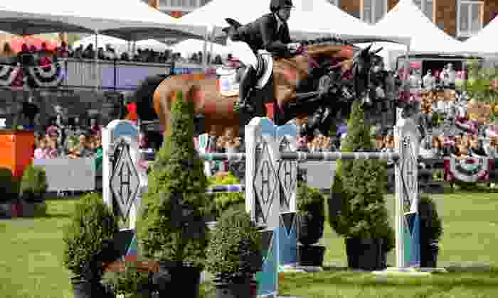 2014 American Gold Cup - Old Salem Farm: $11 for One Ticket to the 2014 American Gold Cup Show-Jumping Event at Old Salem Farm on September 13 or 14 ($22 Value)