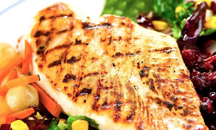 Clancy's Meat Co. - Multiple Locations: Marinated Chicken-Breast Dinner for Two or Four from Clancy's Meat Co. (Up to 40% Off)