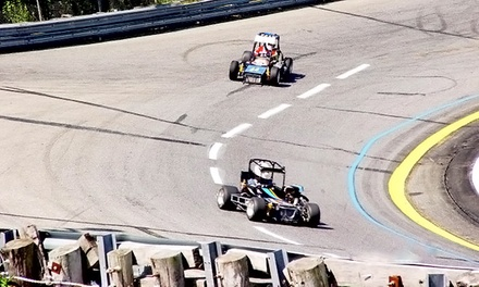 Five Laps in TQ Midget Racecar for One at Green Flag Driving Experience (Up to 51% Off)