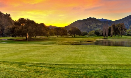 18-Hole Round of Golf for Two or Four with Cart, Range Balls, and Food at Sycuan Golf Resort (Up to 53% Off)