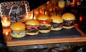Tender Bar & Grill: Wine and Appetizers for Two or Four at Tender Bar & Grill (Up to 39% Off)