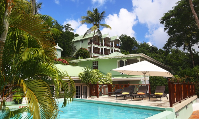 Secluded Beachfront Resort In St Lucia