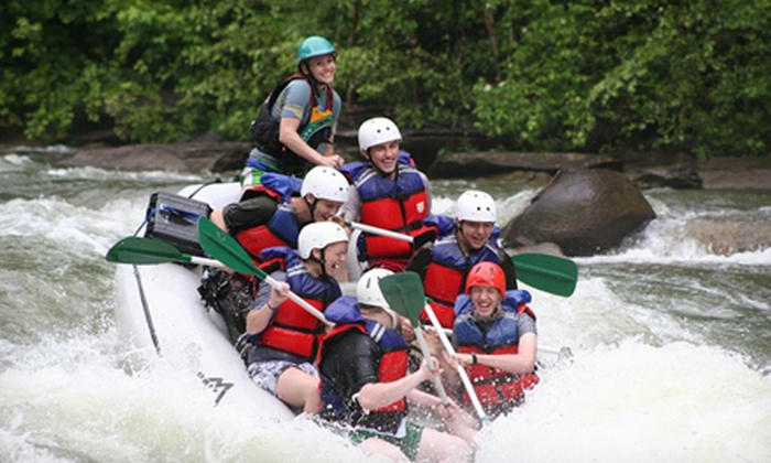 High Country Adventures - 2: Half-Day Whitewater Rafting on Middle Ocoee River for Two or Four from High Country Adventures (Up to 52% Off)