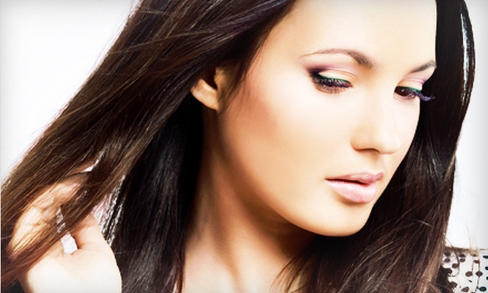Visual Elegance Hair Studio - Nutley: Haircut with Full Color or Partial Highlights at Visual Elegance Hair Studio (Up to 69% Off)