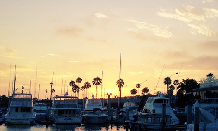 Newport Fun Tours - Newport Beach: Weekend Sunset Cruise for One, Two, or Four from Newport Fun Tours (Up to 65% Off)