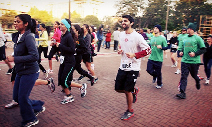 PartnershipsInAction - Centennial Olympic Park - September 14, 2014: 5K Charity Run and Walk for One or Two from Partnership Walk Atlanta hosted by PartnershipsInAction (Up to 52% Off)