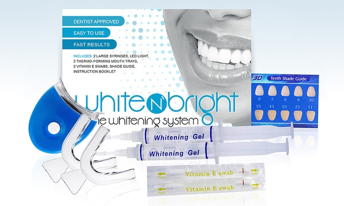 White n' Bright Home Teeth-Whitening System