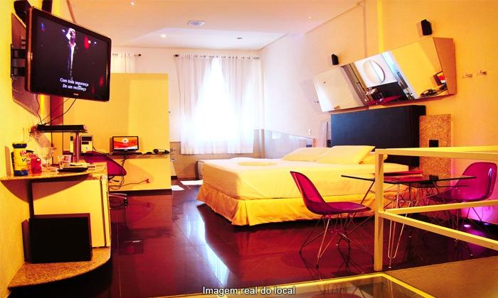 Fidji Motel Intense - Fidji Motel Intense - Matriz: Fidji Motel – 2 endereços: 4 horas na suíte Super Luxo ou Grand Luxo por R$ 57,90