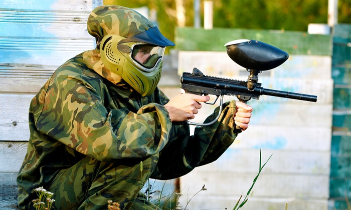 Warzone Paintball & Airsoft - North Kingstown: Paintball Outing for Two or Four at Warzone Paintball & Airsoft (57% Off)
