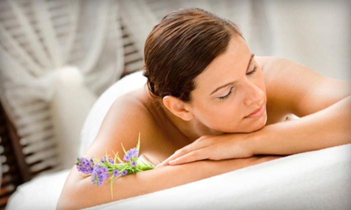 The Spa at Stonehedge - Tyngsborough: Body Scrub and Massage, or Choice of Spa Packages at The Spa at Stonehedge (Up to 52% Off). Three Options Available.