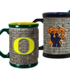 NCAA 15oz. Stonewall Coffee Mugs (Set of 2)